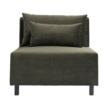 Sofa, Green, MIddle