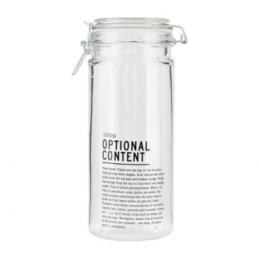 Jar, Optional Content